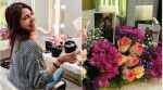 Photos: Anushka Sharma is back to work, gets a floral welcome on the sets of Zero