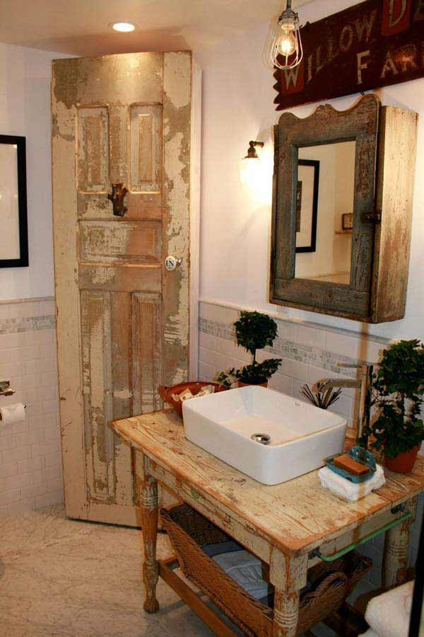 30 Inspiring Rustic Bathroom Ideas for Cozy Home - Amazing ...