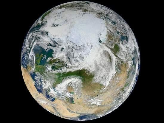 NASA mostra Terra vista