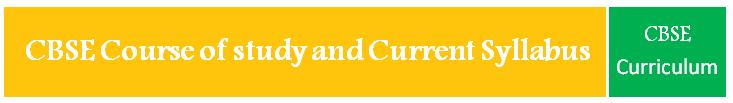 curriculum/Syllabus - Secondary School Examination