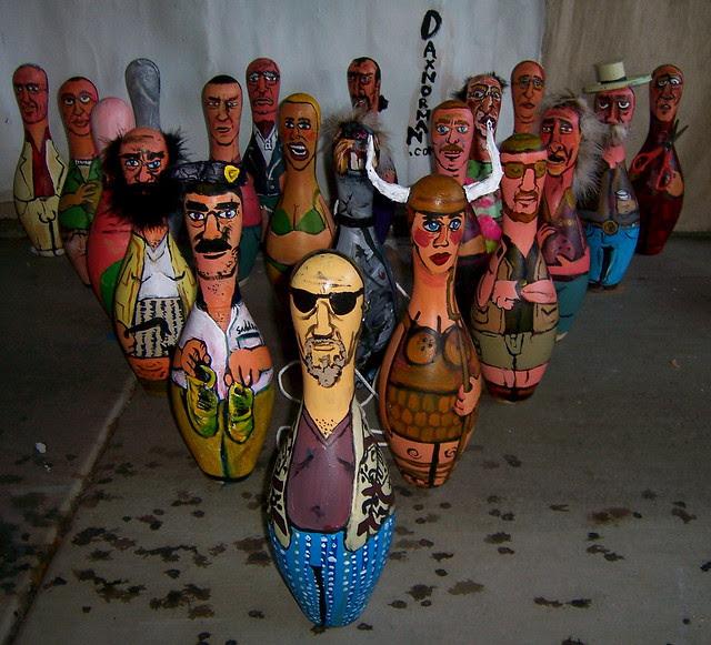 Lebowski Fest Bowling Pins