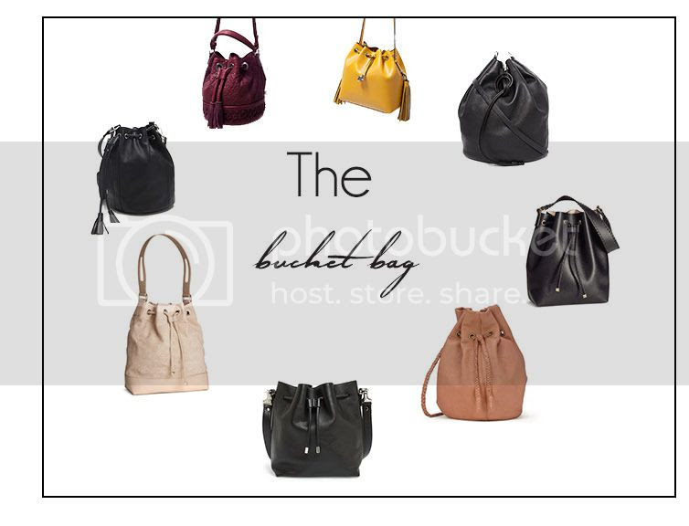 bucket bags for every budget, forever 21 bucket bags, H&M bucket bags, ASOS bucket bags, desinger bucket bags