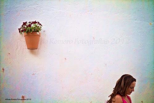 Morena y Maceta by Alfredo Romero Fotografias 