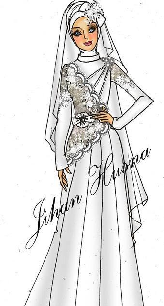 Desain Baju Gamis Gaun - Hijab Nemo