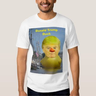 Donald Trump Rubber Yellow Duck Men's T-Shirt
