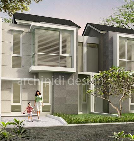 Archipidi-area design  Jasa Desain Rumah Minimalis Tropis Modern