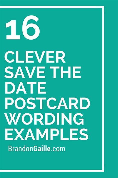 1000  ideas about Save The Date Wording on Pinterest
