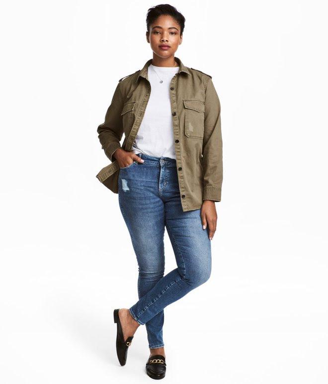 Một cô nàng ngoại cỡ thử 10 chiếc quần jeans của 10 hãng khác nhau, và đây là những điều cô cảm nhận được - Ảnh 2.