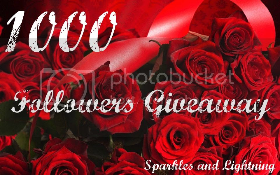 Sparkles and Lightning 1000 Followers Giveaway