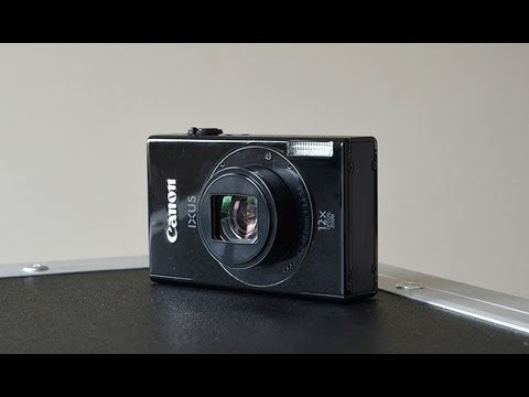 Canon IXUS 500 HS camera full specs, test and video review