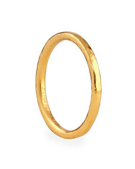 Gurhan 24k Gold Skittle Stacking Ring   Neiman Marcus