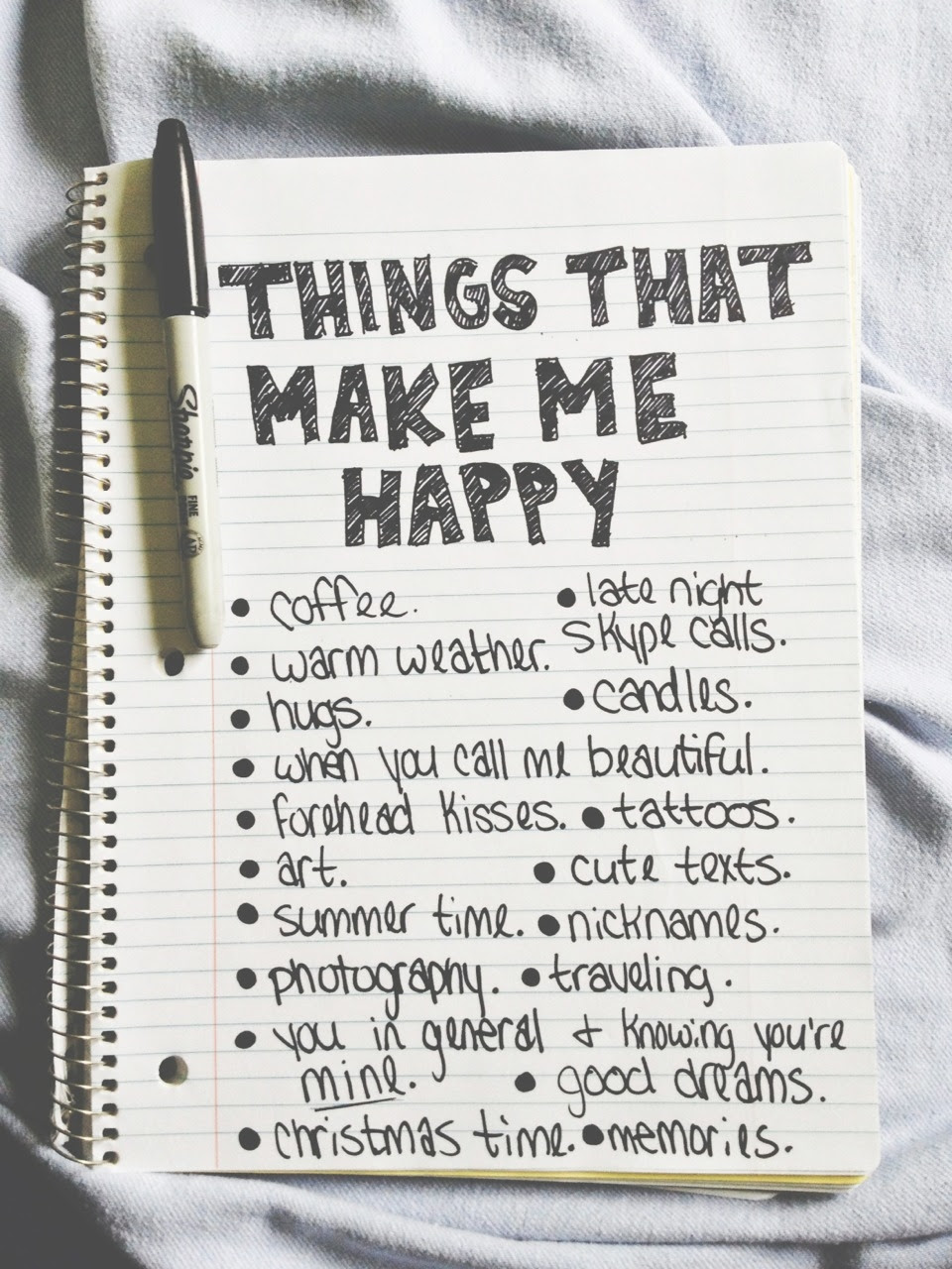 Things That Make Me Happy Pictures Photos And Images For Facebook