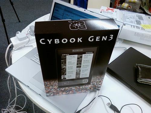 Cybook Box