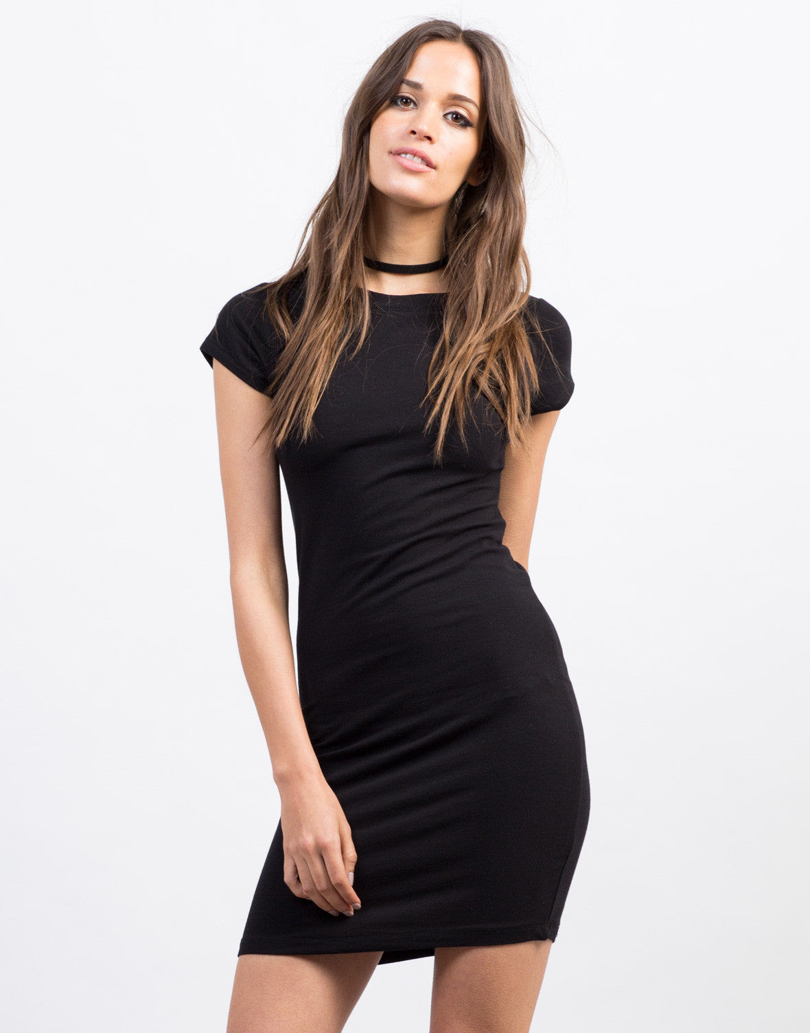 Quality bodycon dress out of a t shirt