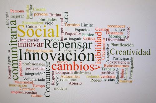 Nube de tags Innovación social