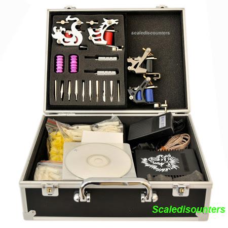 3PCS Micky SHARPZ tattoo machine kit 2010 new tattoo gun kit