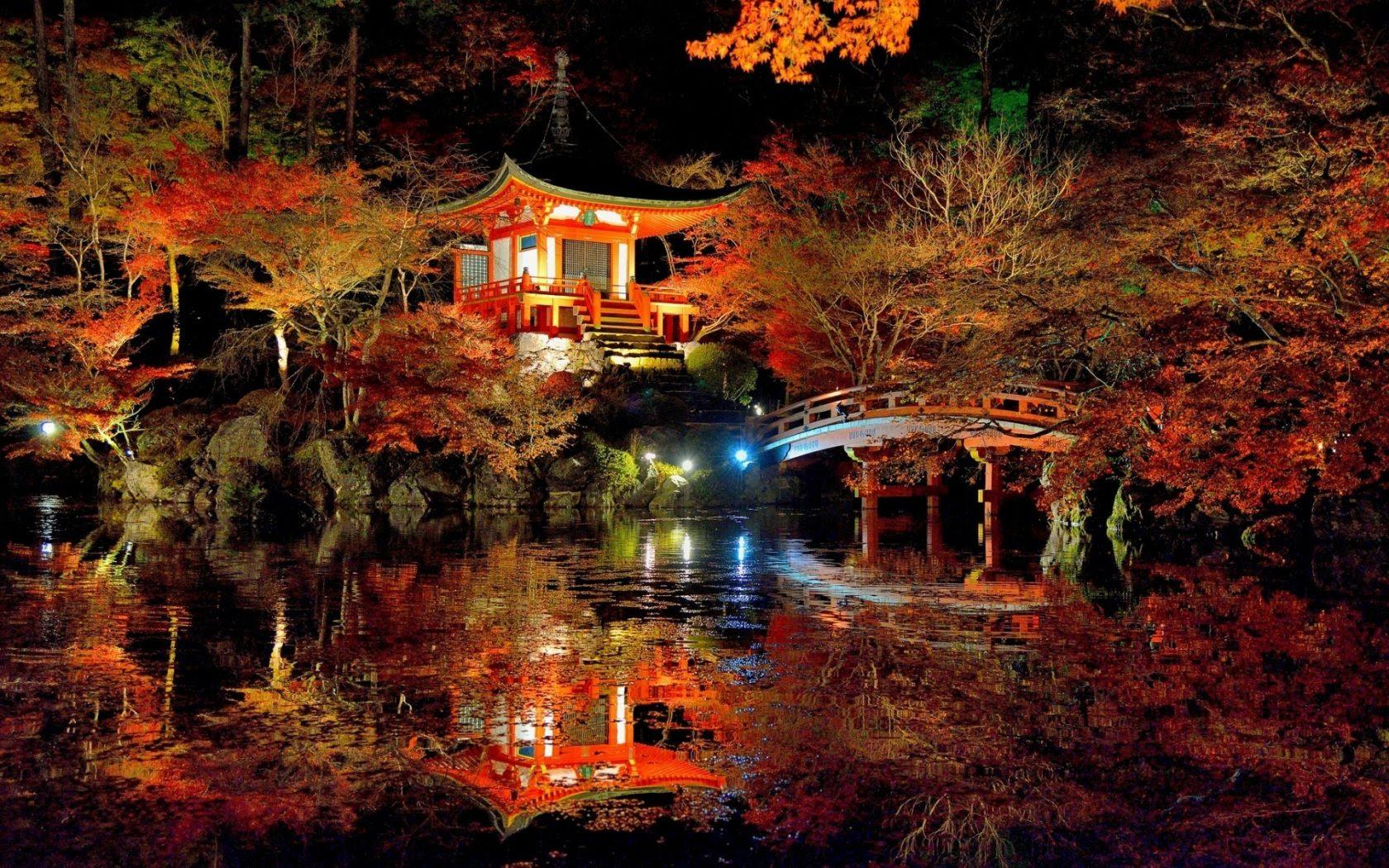 Lovely Japanese Garden 4K Ultra HD [1680x1050]