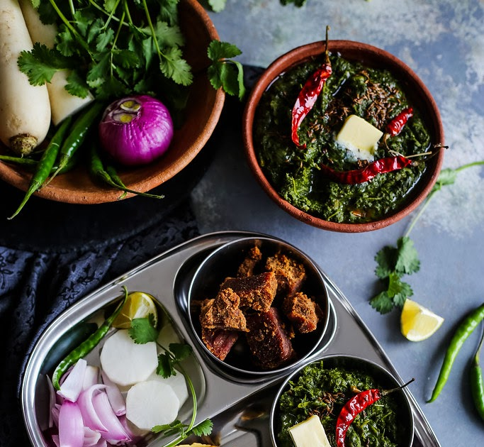 Sarson Ka Saag Recipe | How To Make Sarson Da Saag