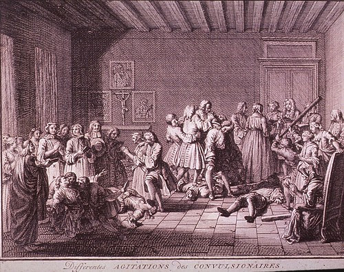 Differentes Agitations de Convulsionaires B. Picard. 1736 (NLM)