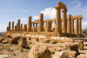 Tempio di Giunone (Temple de Junon), Agrigento...