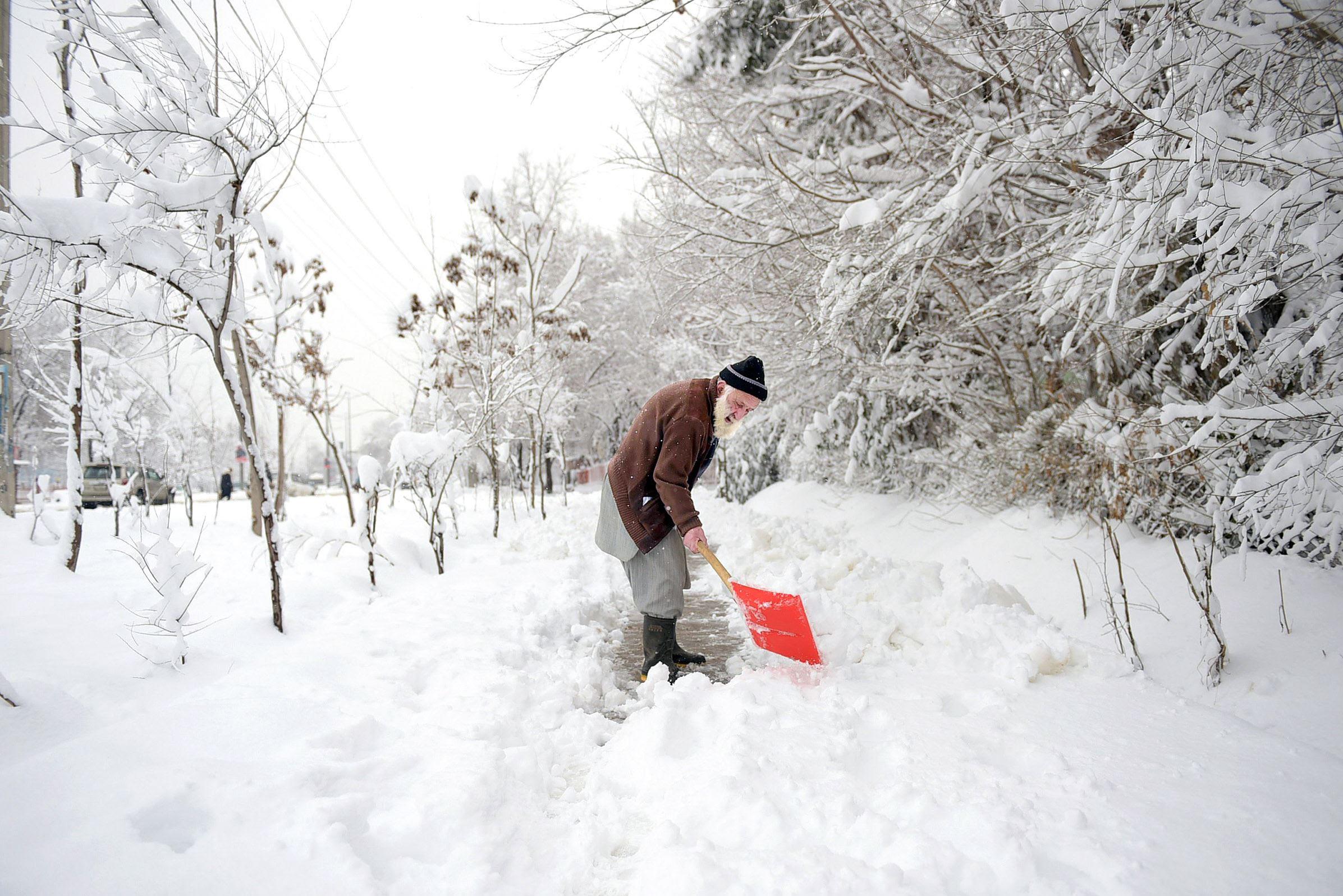 Image result for afghan snow kills 100