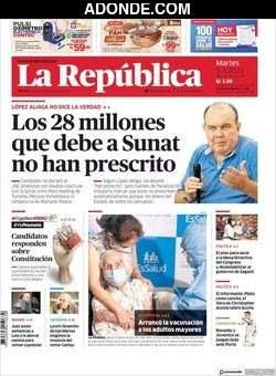 Diario La República Lima Perú