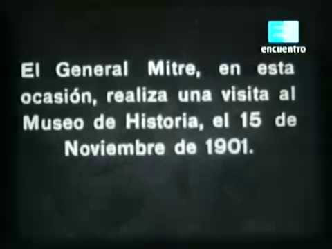 cine documental mudo general mitre