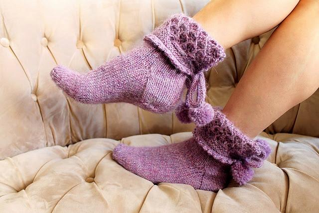 Olive Socks par Anna Nikipirowicz