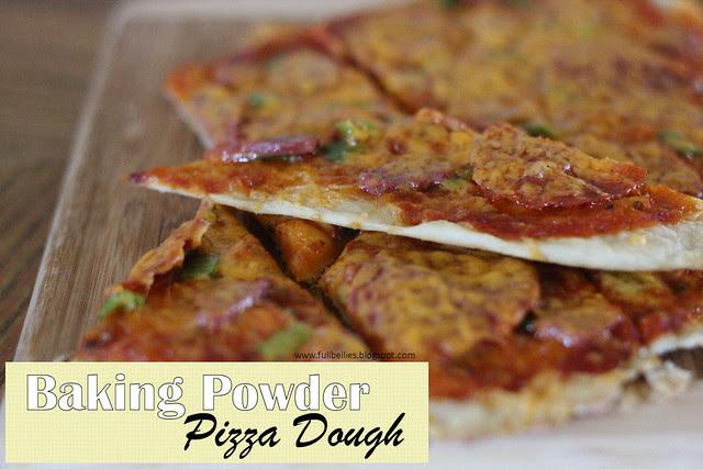 Baking Powder Pizza Dough