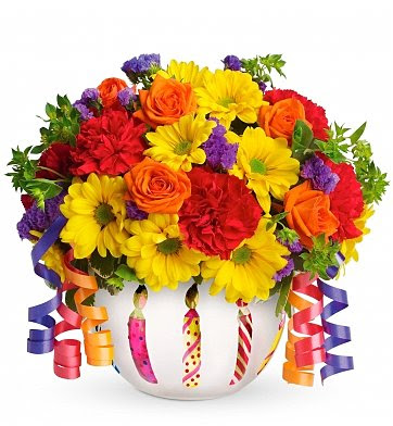 Brilliant Birthday Blooms Flower Bouquets Birthday Wishes Will Be