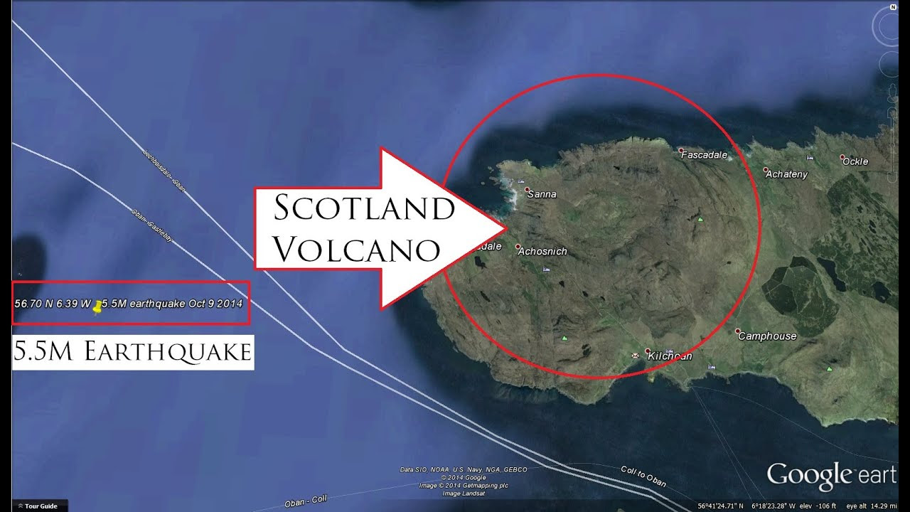 10/09/2014 -- <b>DORMANT</b> <b>VOLCANO</b> in <b>Scotland</b> has 5.5M earthquake ...