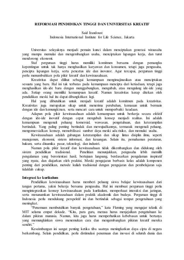 Contoh Artikel Pentingnya Pendidikan Karakter Untuk Mahasiswa 3 Glorios As Palavras