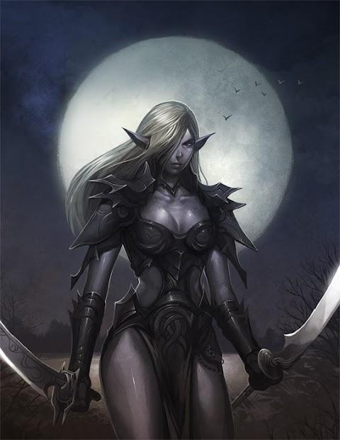 Sexy Dark Elf Pictures Exposed (#1 Uncensored)
