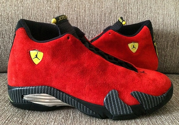 Air Jordan 14 Retro \u0026quot;Ferrari\u0026quot;  SneakerNews.com