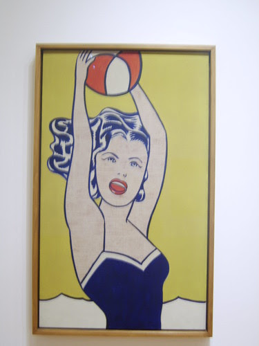 MOMA - Roy Lichtenstein - Girl with Ball by Miss Peekaboo