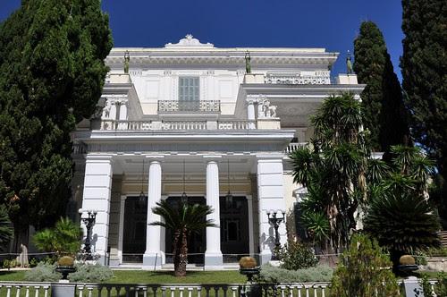 Pałac Achillion na Korfu