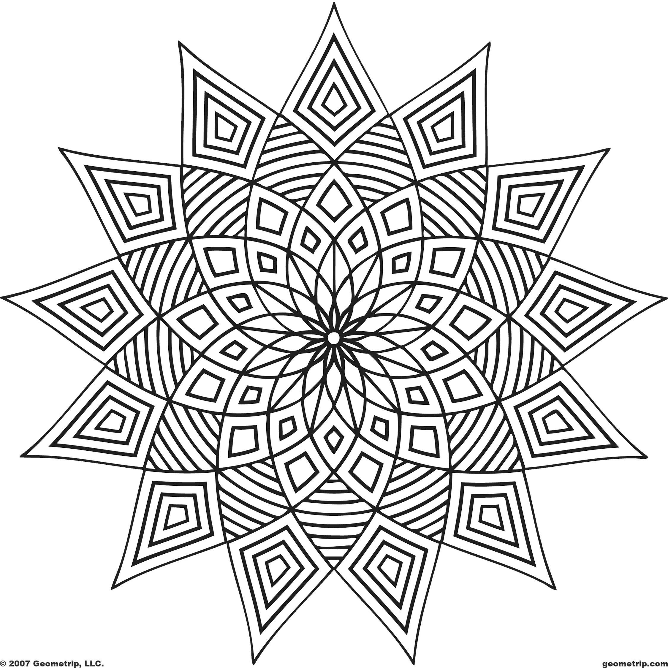 Yetişkinler Için Boyama çıktı Alıp Boyanabilecek 35 Adet Mandala
