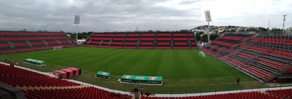 Arena do Flamengo, na Ilha do Governador (Foto: Vicente Seda)