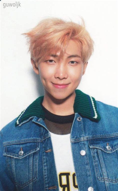 BTS Love Yourself ? 'Her' photocard V Version   Namjoon