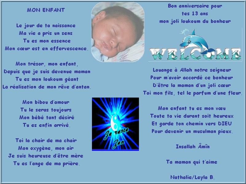 Texte Anniversaire 20 Ans Pour Mon Fils