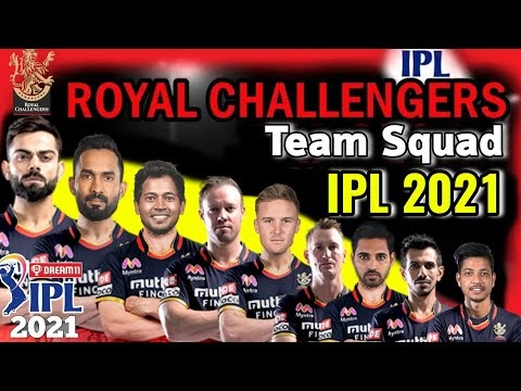 IPL 2021 Royal Chellengers Bangalore Full Squad | RCB Squad IPL 2021 | RCB Players list IPL 2021