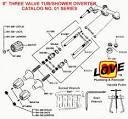Price Pfister Three valve Tub/Shower Diverter