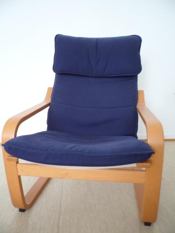 Blau IKEA Stuhl zu verschenken! in Darmstadt - Polster ...