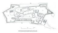 План Хустського замку 3