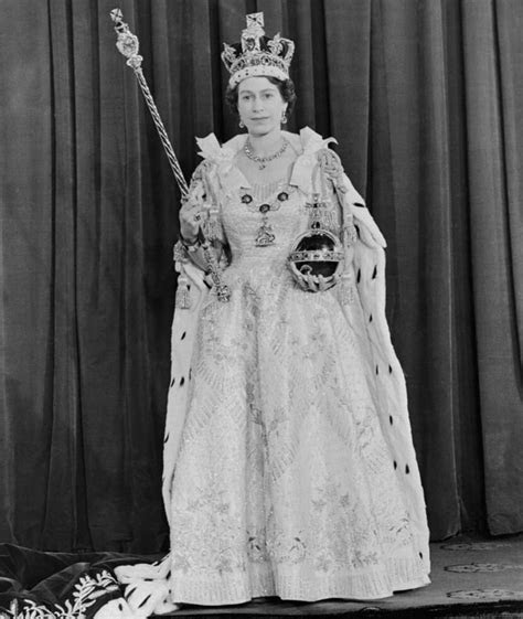The Clothes   Queen Elizabeth Coronation Dress   POPSUGAR