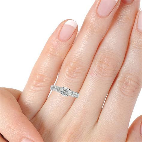 View Full Gallery of Best Of Wedding Rings Hand