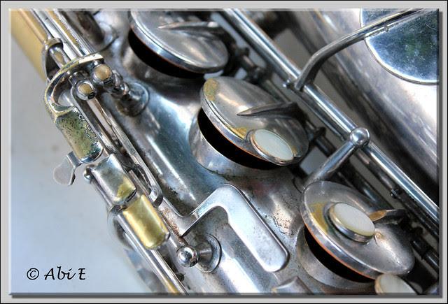 1 llaves de saxofón