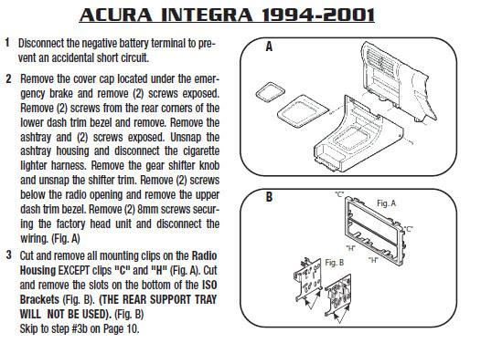2000 Acura Tl Radio Wiring Harness