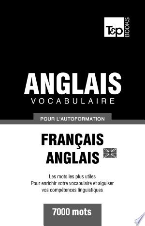 Telecharger Vocabulaire Francais Anglais Britannique Pour L