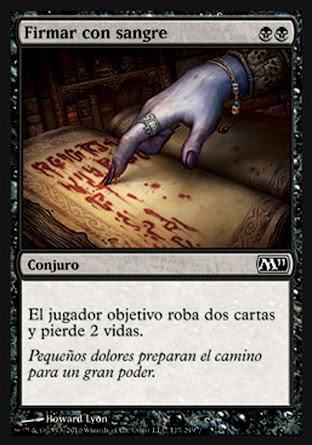 Firmar con sangre